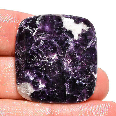 45.5 Ct. Natural Blue Lepidolite Radiant Cabochon Gemstone For Jewelry AK-9162
