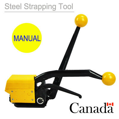 Industry Manual Sealless Steel Strapping Tool Heavy Packager Pallets equipment