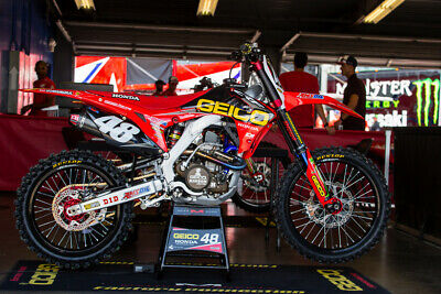 2017 Geico Honda Hrc Factory Team Graphics Kit Cr Crf All Years