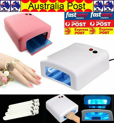 36W LED Nail Light Lamp UV Nail Art Dryer Curing Gel Gelish Timer Polish Nails