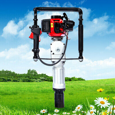 2 Stroke 52CC Post Driver Gas Powered Pile Driver Engine Air-cooling 2.3HP