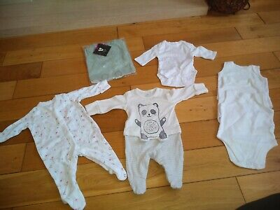 Bundle of Baby Girl Clothes - First Size Newborn