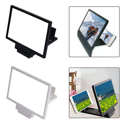 Mobile Phone Screen Magnifier Expander Stand Video Enlarge Holder Tool 8.2 Inch