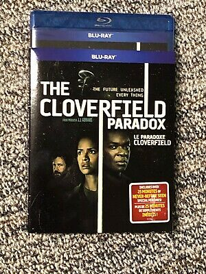 NEW Cloverfield 3 Paradox Blu Ray w Slip Cover Art Canada SEALED 2019