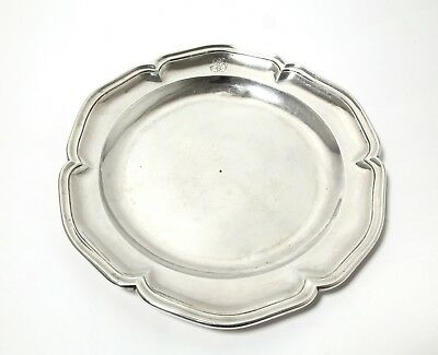 Silver dish (plate or tray). Spain, Madrid, 1790. 18 century