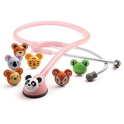 "ADC 618P Ad scope Adimals 618 Paediatric Stethoscope with Tuneable AFD 30"" Pink"