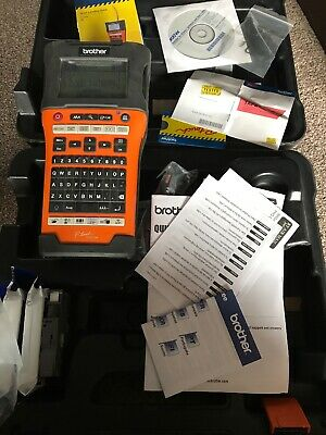 Brother P-Touch E550W Label Maker Printer -  good  Working condition