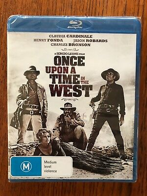 Once Upon A Time In The West Blu-ray New & Sealed Region Free