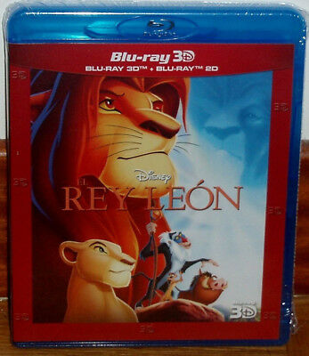The King Leon Combo Blu-Ray 3D+Blu-Ray Disney New Sealed (Unopened) R2