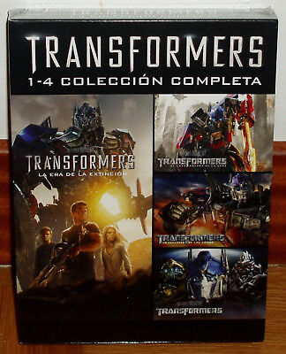 Collection Complete 1-4 Transformers 4 Dvd Sealed New Action (Unopened) R2