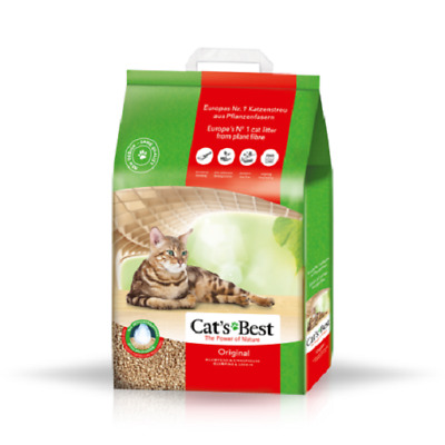 20L Cat's Best Original Öko Plus Katzenstreu Cats Best