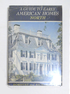950 EARLY AMERICAN HOMES NORTH Heritage Architecture 650 Photos 1956 PRATT hb hc