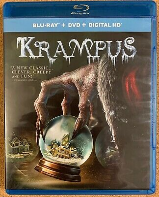 Krampus Blu Ray Dvd 2 Disc Set Free World Wide Shipping Buy It Now Horror