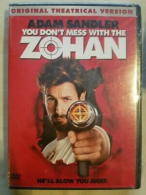 You Don't Mess With The Zohan (DVD) ADAM SANDLER *BRAND NEW/SEALED **Ships FAST!