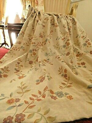 """Traditional TAPESTRY Lined CURTAINS Victorian Vintage Style Floral 52 x 72""""D"""