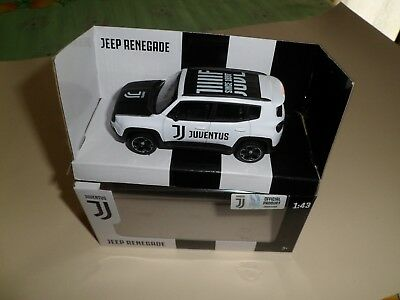 Modellino Auto Jeep Renegade Juventus Scala 1:43 Official Product
