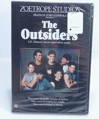 The Outsiders (Authentic OOP DVD) 2008  C. Thomas Howell, Matt Dillon New Sealed