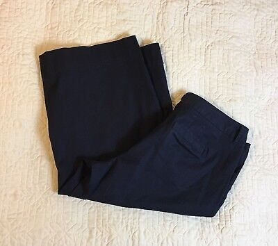 b0c0b43533e LANE BRYANT WOMEN S Black Stretch Wide Leg Boot Cut Pants Size 16 ...