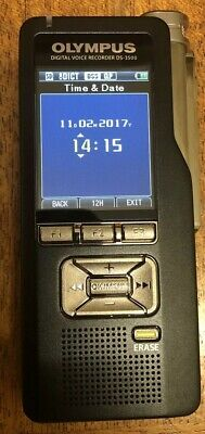 Olympus DS-3500 Digital Voice Recorder Great For Ghost Hunting Evp Free 16gb Sd
