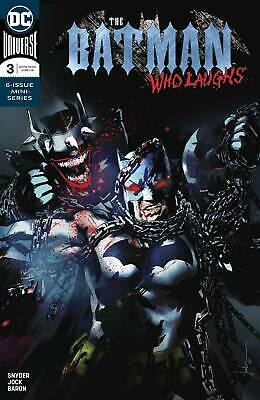Batman Who Laughs #3 (Of 6) (2019) 1St Printing Main Cover Dc Universe ($4.99)