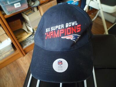 NFL 4X SUPER Bowl Champions Clean Up Adjustable Hat Cap-New England ... b0c808088