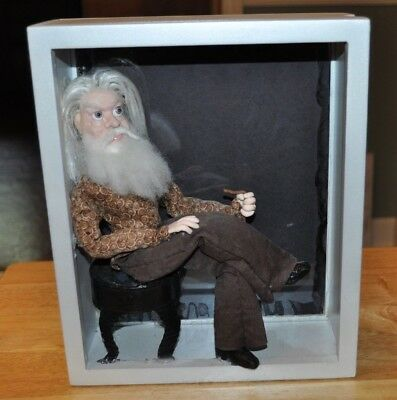 Leon Russell Folk Art Figure OOAK From The Estate Sale Of Leon Signed By Artist