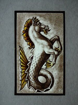 Beautiful Stained glass.Hand painted. Kiln fired.190 x 115mm. Antique style.