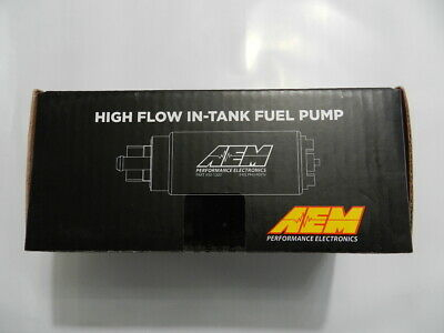 NEW AEM High Flow In Tank Universal Fuel Pump 320 LPH Up To 1000HP 50-1000
