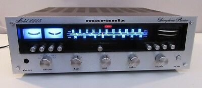 Marantz 2225 Works Perfect Serviced W/caps Led Upgrade Excellent Condition