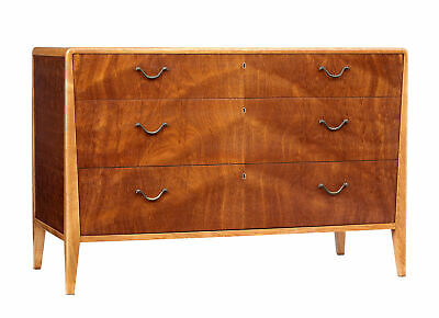 Mid 20Th Century Scandinavian Mahogany Chest Of Drawers