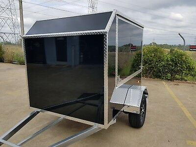 Airport Shuttle  Enclosed Trailer -  Extra Lightweight & Durable