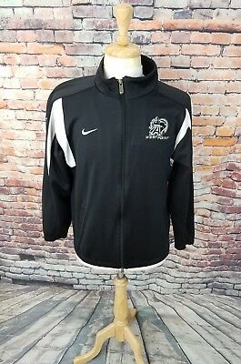 Nike Team Men Black White Full Zip WEST POINT ARMY BLACK KNIGHTS Track  Jacket M bad2c8ef6
