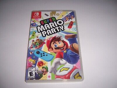 Original Box Case Replacement Nintendo Switch Super Mario Party