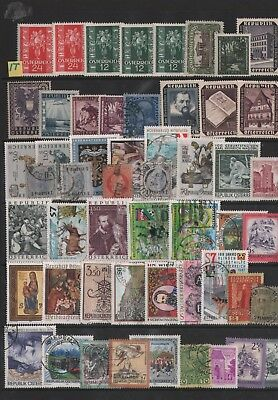 Austria  Lot Of Stamps  #1T