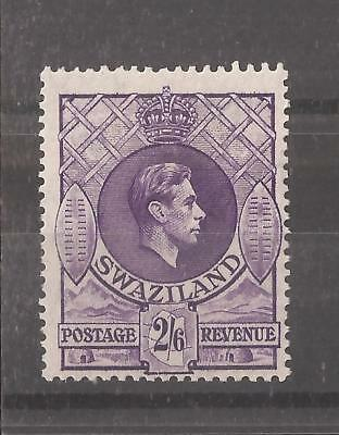 SWAZILAND KGVI 2s6d mh