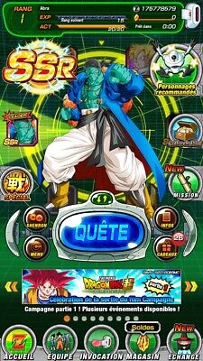 Gros Compte Dokkan Battle Fresh Global 9LR