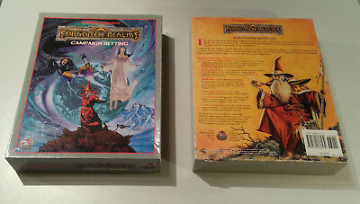Box Forgotten Realms Campaign Setting | AD&D 2nd | vollständig | sehr gut