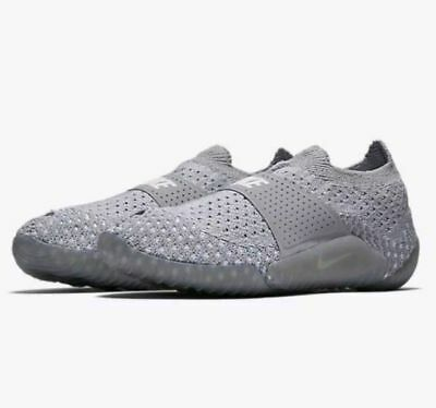 first rate a4097 dd3eb Nike Womens City Knife 3 Flyknit Shoes Size 10 Wolf Gray White Style 896284  003
