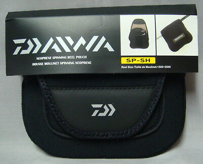 Daiwa SP-SH Neoprene Spinning Reel Cover - 1000 to 2500 Size Reels  *New*