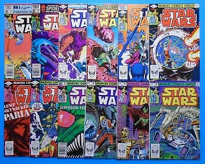 Marvel Star Wars Bronze Age Comic Book Lot 53 54 58 59 60 61 62 63 64 66 67 69