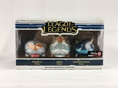 League Of Legends Gamestop Exclusive Funko Pop! 3 pack New