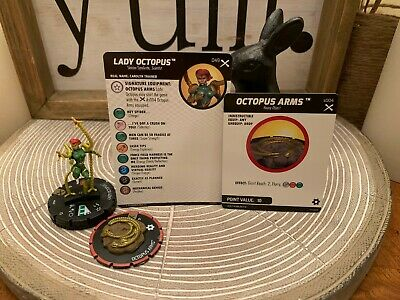 Heroclix - Earth X - Lady Octopus #049 Super Rare w/ Card + Equipment