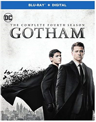GOTHAM: THE COMPLETE FOURTH...-GOTHAM: THE COMPLETE FOUR (US IMPORT) Blu-Ray NEW