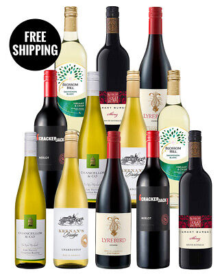 Save On Faves Red & Whites Dozen (12 Bottles)