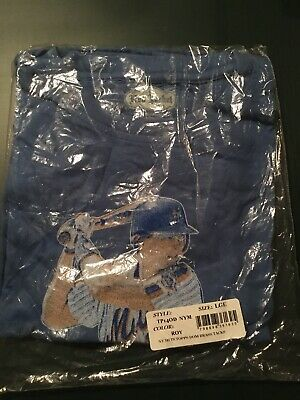 "Topps Authentic 1986 MLB New York Mets Tim Teufel ""Do The Teufel Shuffle"" Shirt"