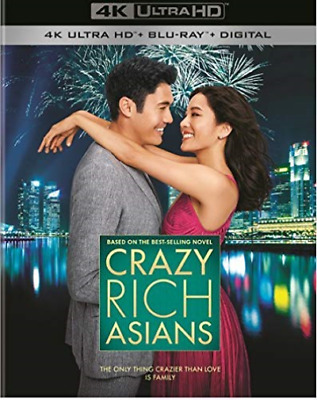 `WU,CONSTANCE`-4K Blu-Ray - CRAZY RICH ASIANS (US IMPORT) Blu-Ray NEW