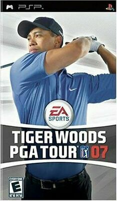 Tiger Woods PGA Tour 07 - Sony PSP Game