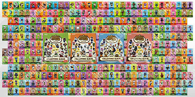 NEW Animal Crossing Amiibo Cards Complete Set - All Series 1-4 (#001-400) [US]