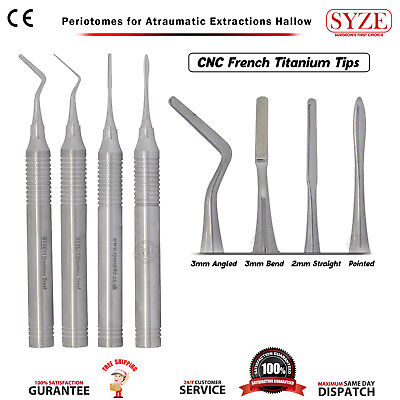 Bone Atraumatic Extraction Periotome Periodontal Ligament Tooth Placement Tools
