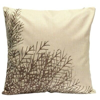3X(Variety Vintage Linen Cotton Cushion Covers Throw Pillow Case Home Sofa R6W1)